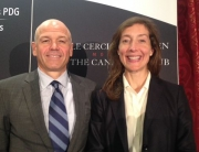 Christiane Germain and Jean-Yves Germain at the  Canadian Club of Montreal