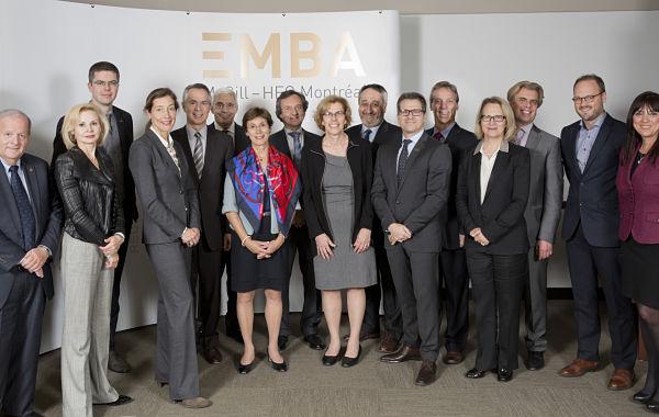 The EMBA McGill – HEC Montréal Program Announces the Creation of an Advisory Board