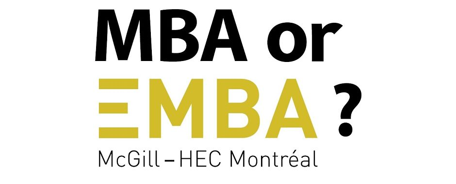 MBA or EMBA?