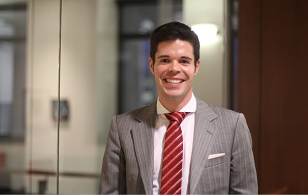 An important promotion for Hugo Delorme, a current EMBA participant