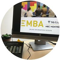 Online EMBA Information Session - March 2, 2018