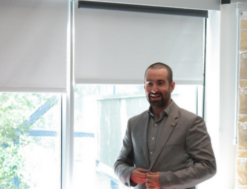 A promotion for Marco De Tavira Ayala, a current EMBA participant, at Bombardier Aerostructures and Engineering Services