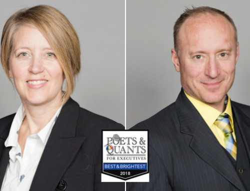 Claudia Désilets and Pascal Larose (EMBA 2018) among Poets & Quants' Best & Brightest EMBAs for 2018