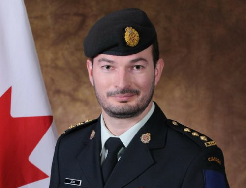 Major André P. Jean (EMBA 2019), promoted to Commanding Officer