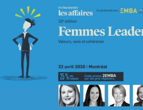 EMBA McGill-HEC Montréal partner of the Femmes Leaders event by Les Affaires