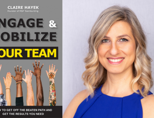 Claire Hayek (EMBA 2015) publishes a book on employee engagement