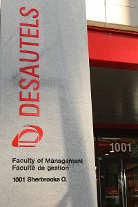 Séance d'information à McGill - 29 août 2017