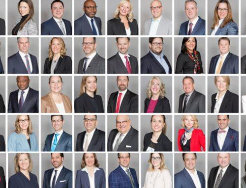 Les diplômés 2018 de l'EMBA McGill-HEC Montréal