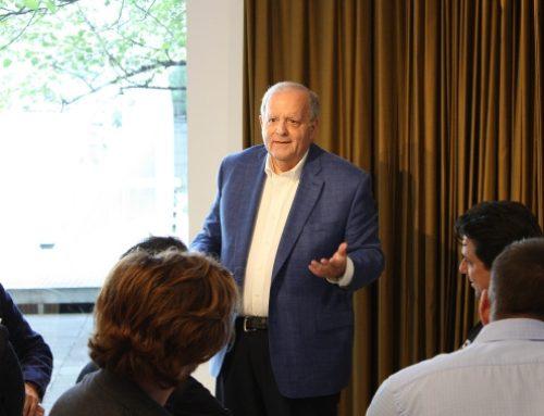 Elliot Lifson, parrain de la cohorte 2020 de l'EMBA, nouveau président du CA du Centre Segal