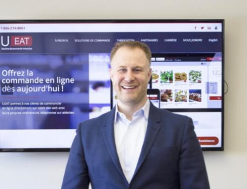 Martin Lafrance (EMBA 2015) et UEAT lancent un outil pour le paiement et la commande sans contact dans les restaurants