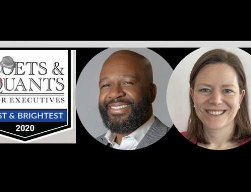 De l'EMBA McGill-HEC Montréal, Lindsey Kettel et Frantz Saintellemy sur la liste prisée des 'Best and Brightest' de l'année